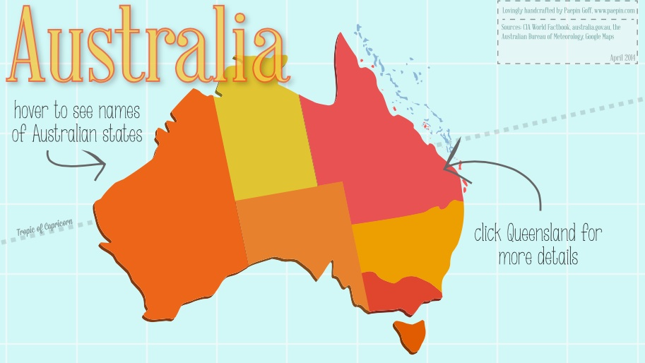 Reporting Australia Active Image-Map