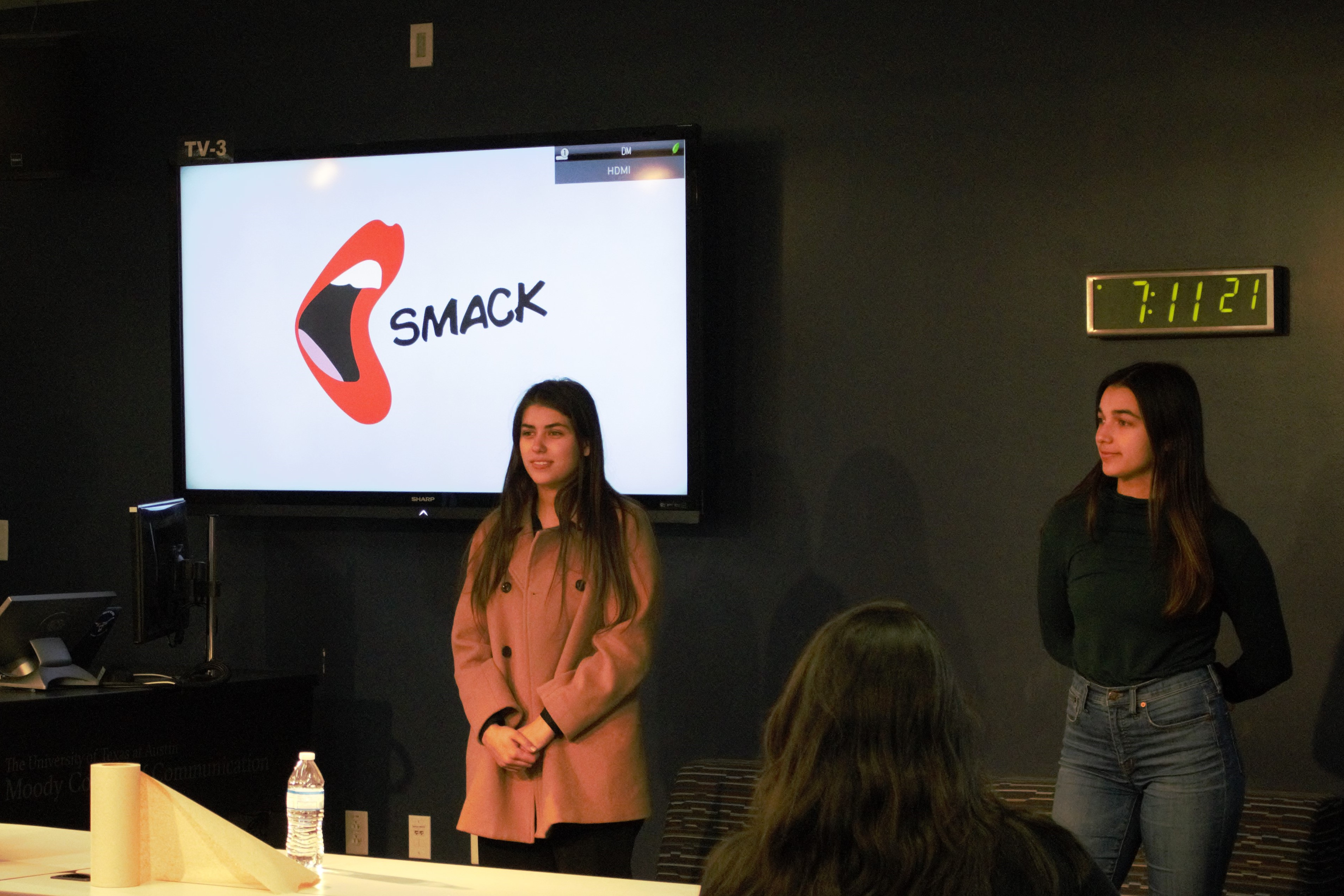 Capstone Class Demo Day / NewSmack team presents their product