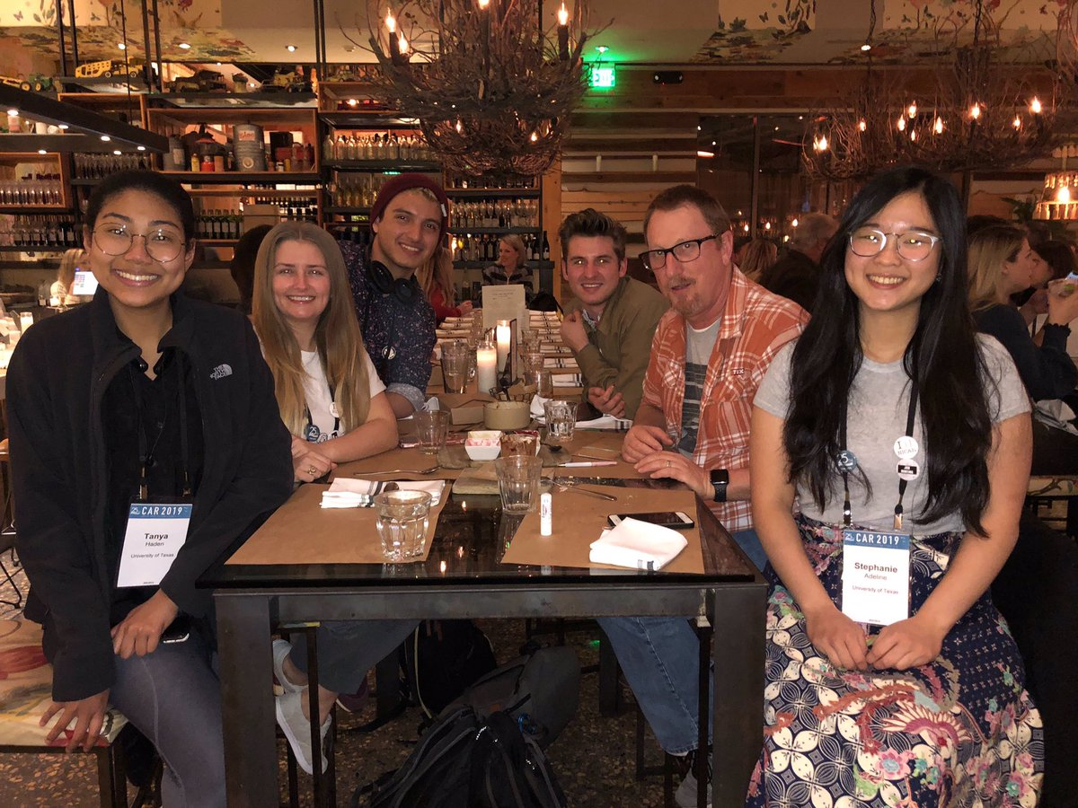 Our team of students at NICAR in Newport Beach, California
